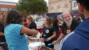 Community BBQ at the Walk of Awareness