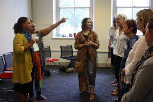 "Sarah Decrea's workshop ""Working with Nunga Kids"""